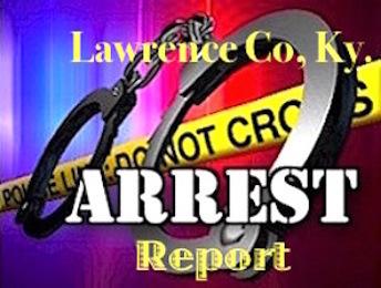 LAWRENCE COUNTY ARREST LIST – JUNE 7-14, 2019